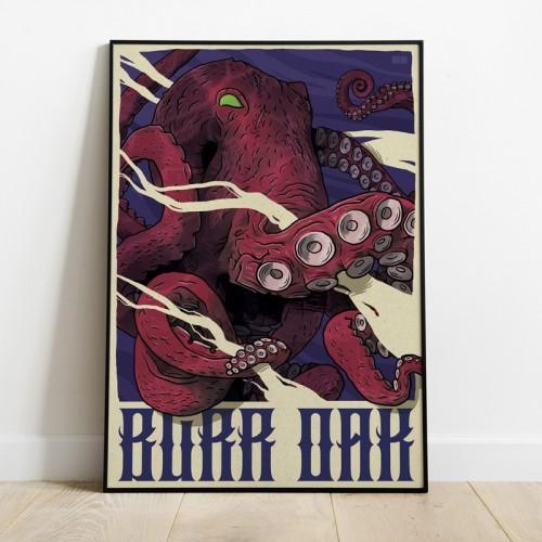 Poster KosenProd Burr Oak