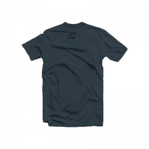 T Shirt Kosen Wolf Bleu Denim Dos