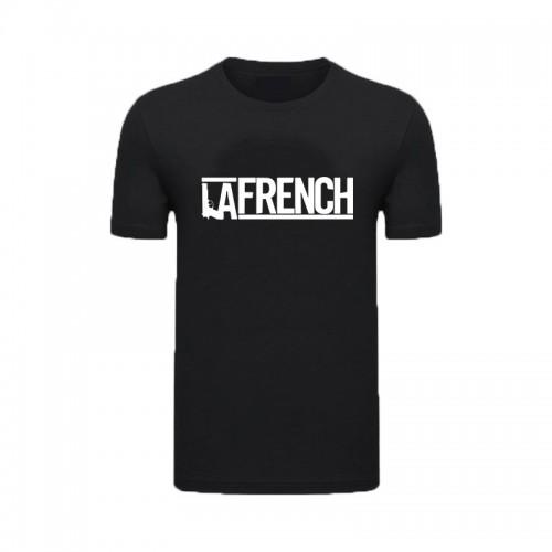 T-Shirt Noir La French