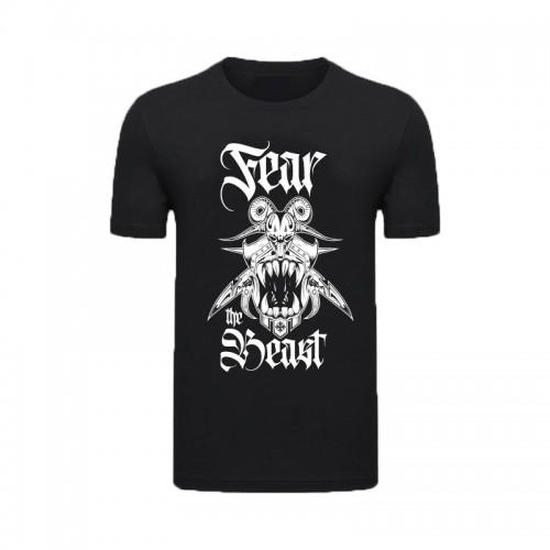 T-Shirt Noir Fear The Beast Karnage