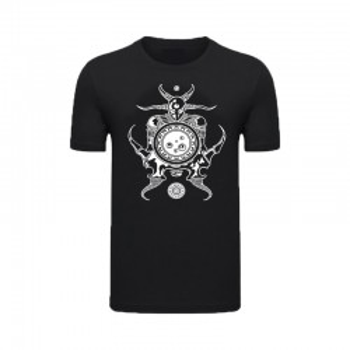 T-shirt Noir Karnage Logo Original