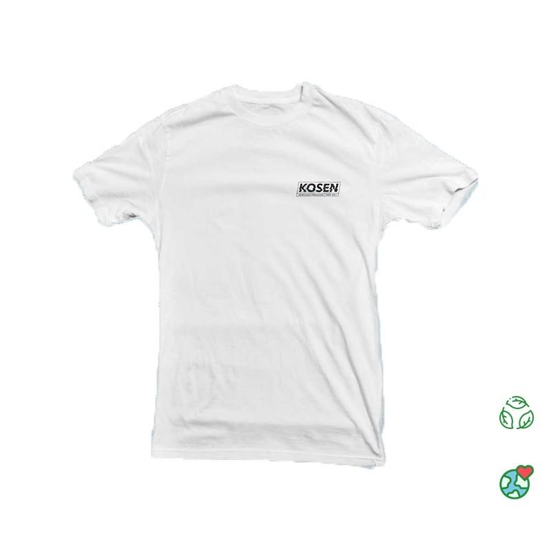 T Shirt Blanc Kosen Logo